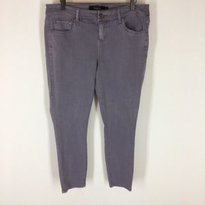 Torrid denim jeans  size 12 cotton stretch ankle